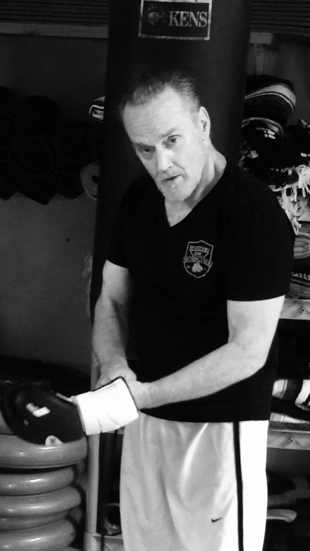 Michael Bowen in Beverly Hills Boxing Club Tshirt